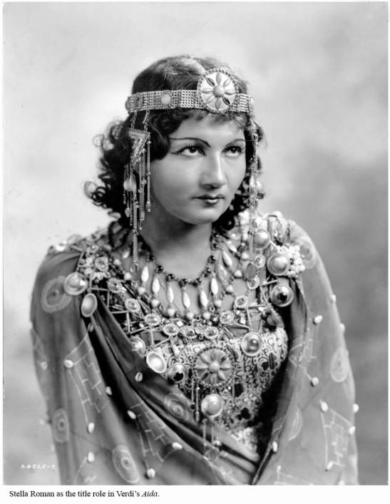 Stella Roman în Aida