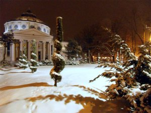 Ateneul Român, iarna