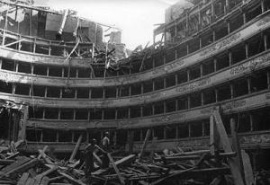Teatro alla Scala, bombardat  - 1943