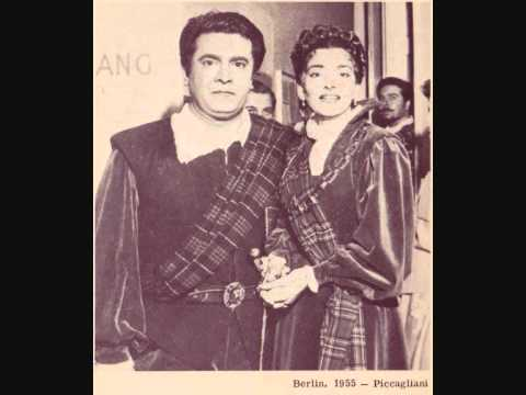 Giuseppe di Setfano și Maria Callas - Lucia di Lammermoor, Berlin 1955