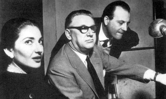 Maria Callas, Walter Legge, Tito Gobbi