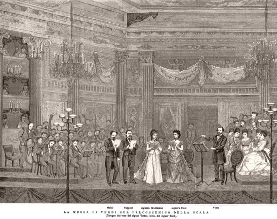 Verdi - Requiem - Teatro alla Scala, 1874