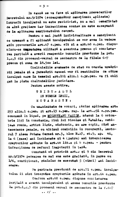 7 - Sentinta 3