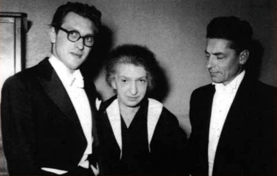 Geza Anda, Clara Haskil, Herbert von Karajan