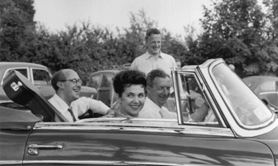 Benjamin Brittem și Galina Vișnevskaya, Mstislav Rostropovici și Peter Pears