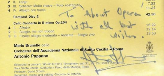 Pappano Autograf