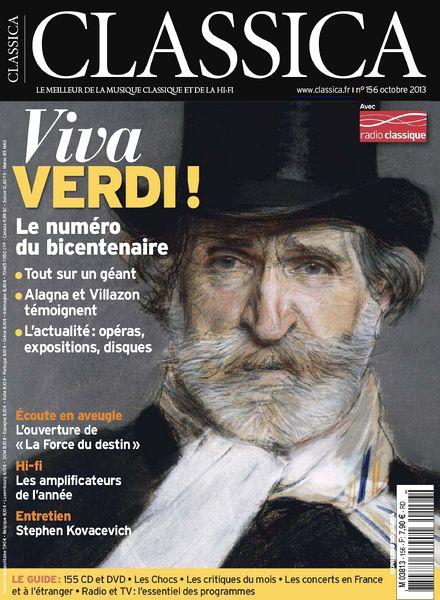 Classica No.156 Octobre 2013