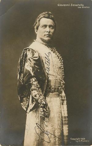 1909 - Giovanni Zenatello