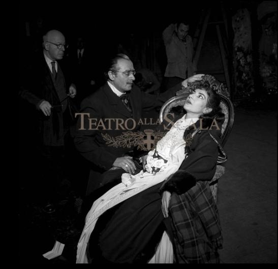 La traviata (1956, r. L. Visconti) - (c) Teatro alla Scala