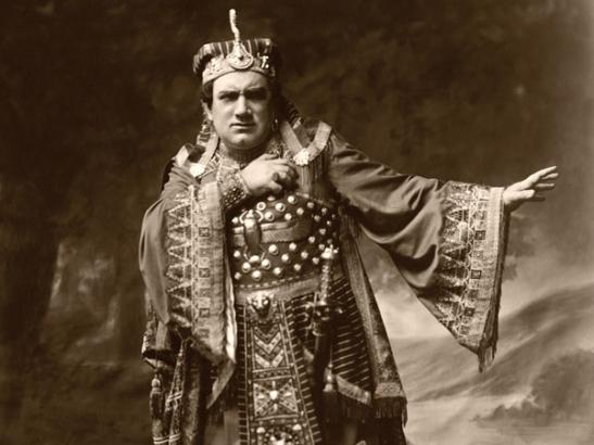 Enrico Caruso în rolul lui Radames (Aida) - Metropolitan Opera, cca. 1908