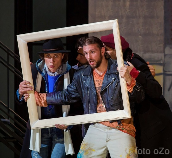 La bohème, actul I - Opera Națională Iași  - (c) Dușa Ozolin, (c) Opera Națională Iași