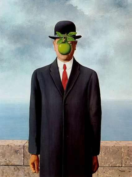 Magritte - Fiul omului (1964)