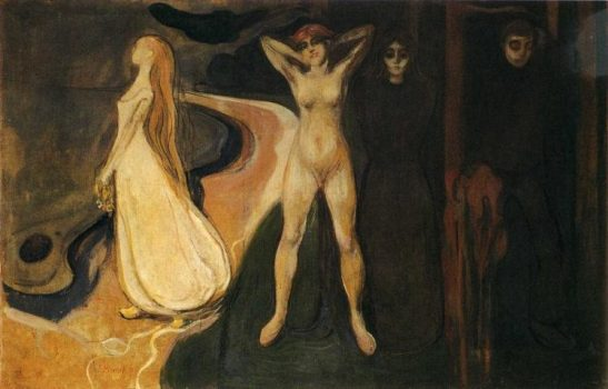 Femeie în trei stadii - Edvard Munch, 1895