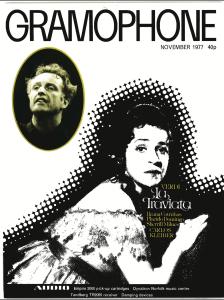 Gramophone, Noiembrie 1977