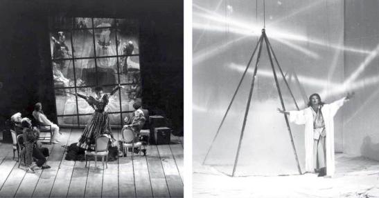 Două dintre primele producții pentru care Marie-Jeanne Lecca a creat atât decorul cât și costumele: The Stone Guest, la ENO, în 1987, cu Sally Burgess în rolul Laurei, și La Wally, la Wexford, în 1985, cu Josella Ligi în rolul principal
