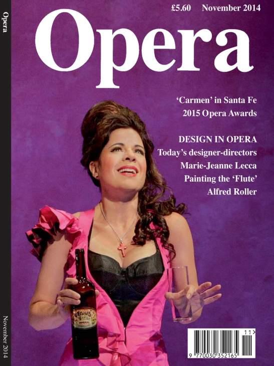 Opera Magazine, Noiembrie 2014
