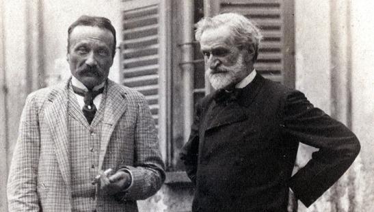 Arrigo Boito & Giuseppe Verdi (1892)