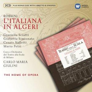L'italiana in Algeri (1954) - Giulini, Scala - Sciutti, Simionatto, Valetti, Petri, etc.