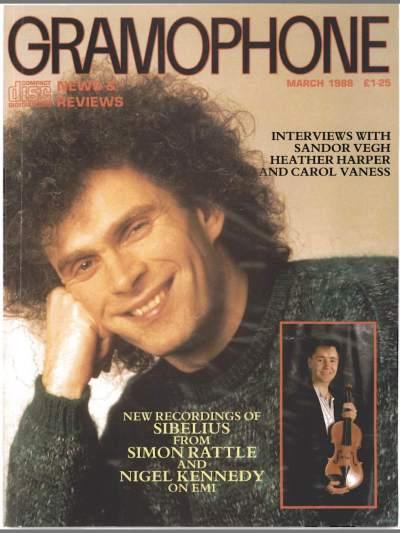 Gramophone - Martie 1988 - Coperta