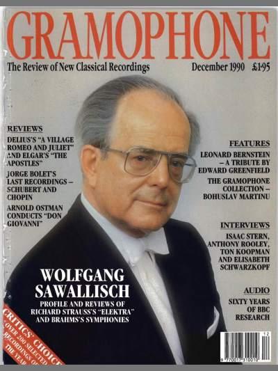 Gramophone - Decembrie 1990 - Coperta