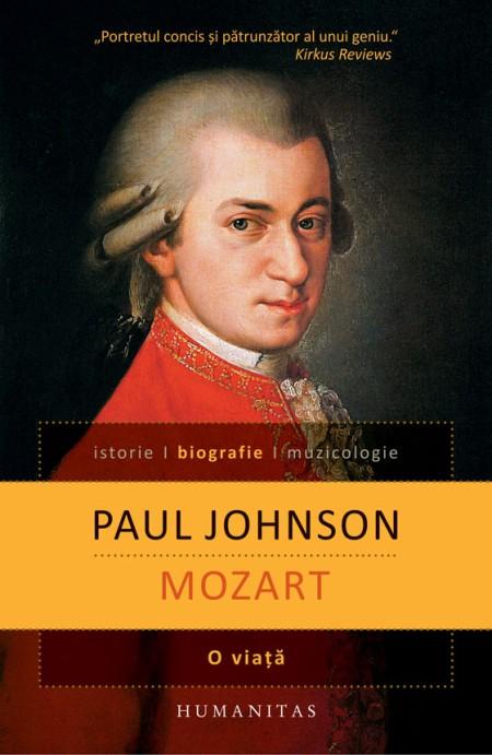 Mozart - O viata - Coperta