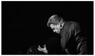 Christian Badea dirijează Parsifal (imagine de la concertul din 2015)