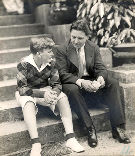 Enescu și Menuhin
