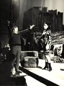 Cu Franco Zeffirelli, repetiții pentru Un ballo in maschera, Scala, 1972