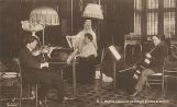 George Enescu în salonul Reginei Elisabeta