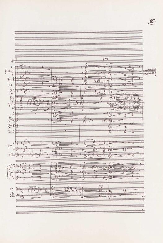 O filă din partitura lui Œdipe