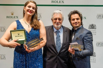 Lise Davidsen, Plácido Domingo, Ioan Hotea - Operalia 2015