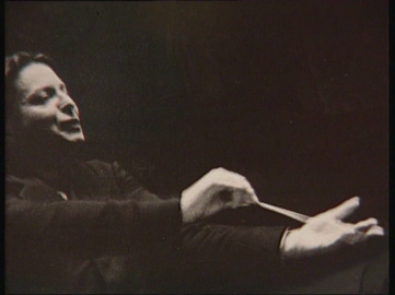 George Enescu conducting 1