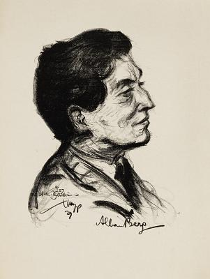 Alban Berg (desen de Emil Stumpp)