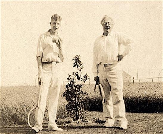 Benjamin Britten și Frank Bridge - 1930