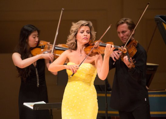Anne Sophie Mutter la Carnegie Hall