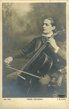 Arnold Földesy (cca 1910)