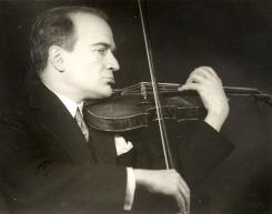 Bronislaw Huberman (1935)