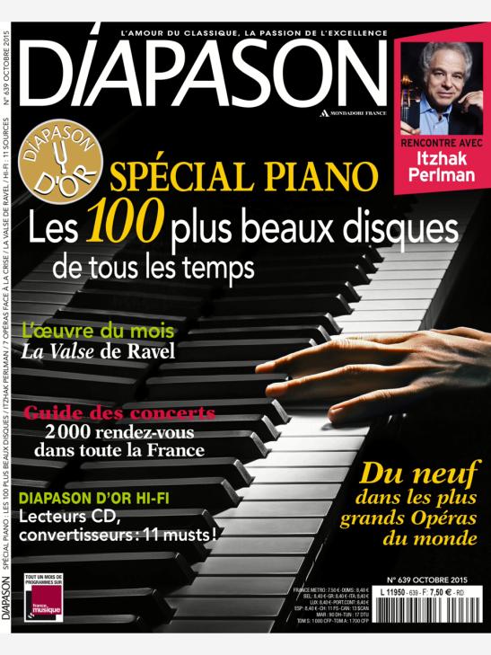 Diapason, Oct. 2015