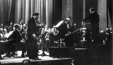Pablo Casals, George Enescu, George Georgescu