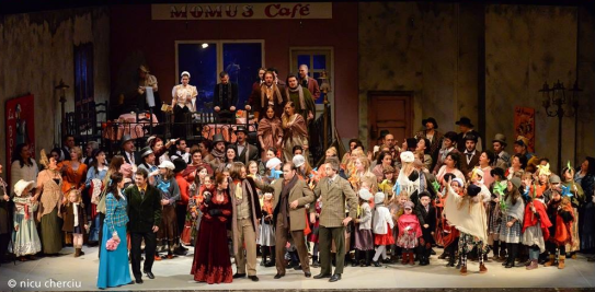 La bohème, act II - Opera Națională Cluj