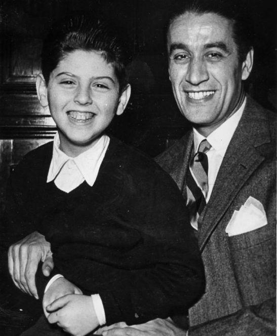 Daniel Barenboim, Sergiu Celibidache - Buenos Aires, 1954