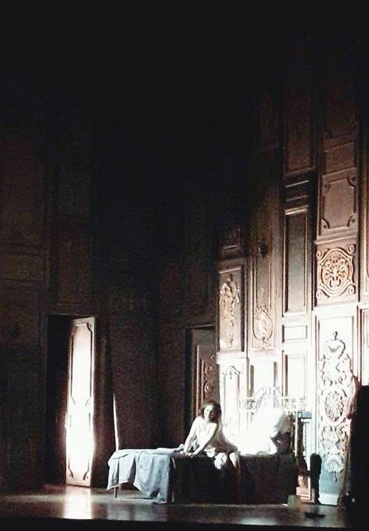 Addio, del passato - Diana Țugui, La traviata, ONB 2016 (imagine de la repetiții)