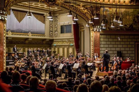 Imagine de la concertul de joi de la Ateneul Român (Foto: Romeo Zaharia)