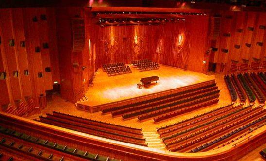 Barbican Hall. sediul LSO