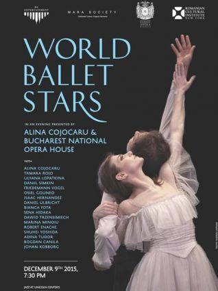 Afiș pentru gala de balet de la New York