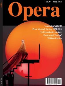 Opera UK - May 2016