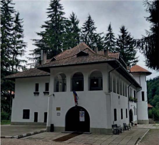 Vila Luminiș, casa din stațiunea montană Sinaia pe care Enescu a construit-o în 1920 și unde a compus mare parte din opera Œdipe.