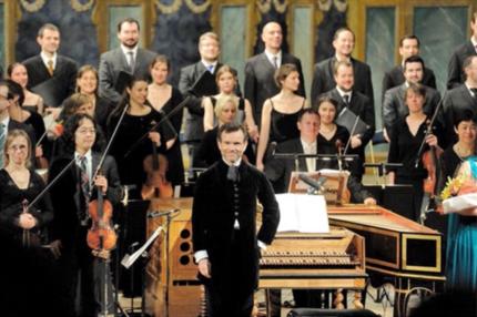 Muzician intermitent între 150 și 200 euro brut pe zi, plafon lunar: 4.380 euro (în imagine: Les Talens Lyriques)