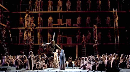 Œdipe la teatrul La Monnaie, în 2011, o producție La Fura dels Baus, care vine luna aceasta la Covent Garden