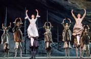 A scene from Frankenstein by The Royal Ballet @ Royal Opera House. Choreography by Liam Scarlett. (Opening 04-05-16) ©Tristram Kenton 05/16 (3 Raveley Street, LONDON NW5 2HX TEL 0207 267 5550 Mob 07973 617 355)email: tristram@tristramkenton.com